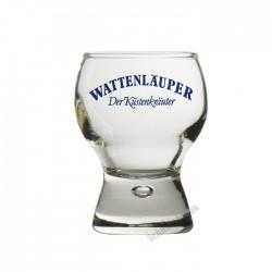 Wattenläuper Glas 2cl 6 Stück