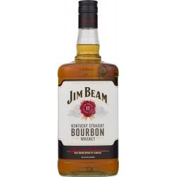 Jim Beam White Bourbon Whisky 1,75 Liter