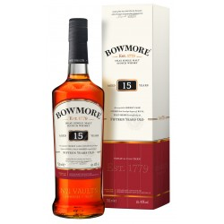 Bowmore 15 Jahre Islay Single Malt Scotch Whisky 0,7 Liter