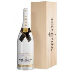 Moët & Chandon Champagne ICE IMPÈRIAL Jeroboam 3,0 Liter in Holzbox