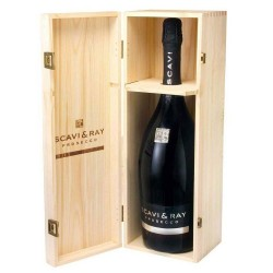 SCAVI & RAY Prosecco Spumante Magnum 1,5 Liter in Holzbox