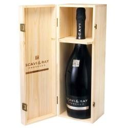 SCAVI & RAY Prosecco Spumante Jeroboam 3,0 Liter in Holzbox