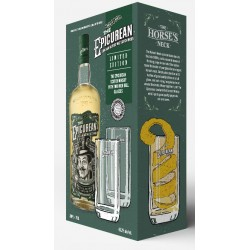 The Epicurean Lowland Blended Malt 0,7 Liter in Geschenkbox mit 2 Gläsern