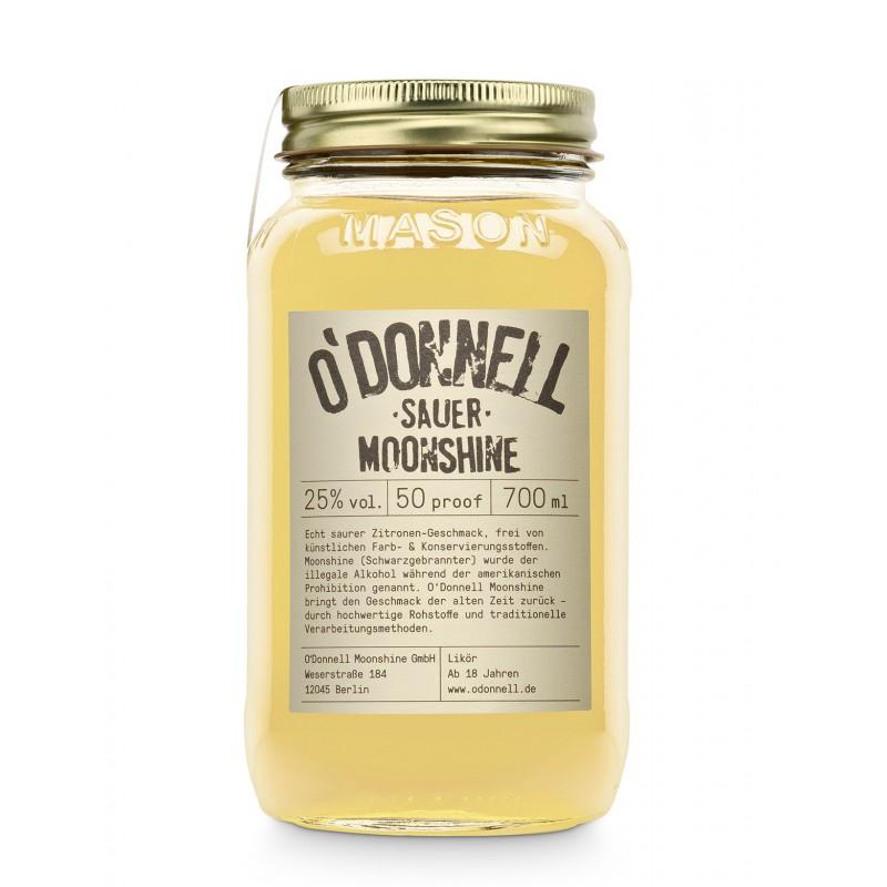 O`Donnell Moonshine Sauer 0,7 Liter jetzt bestellen.