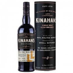Kinahan's Heritage Malt Irish Whiskey 0,7 Liter