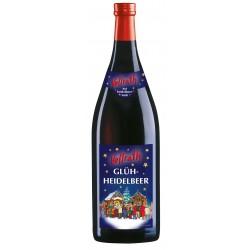 Vollrath Glüh-Heidelbeer Glühwein aus Heidelbeerwein 1,0 Liter