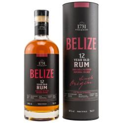 1731 Rum - Belize 12 Years Single Origin Rum 0,7 Liter