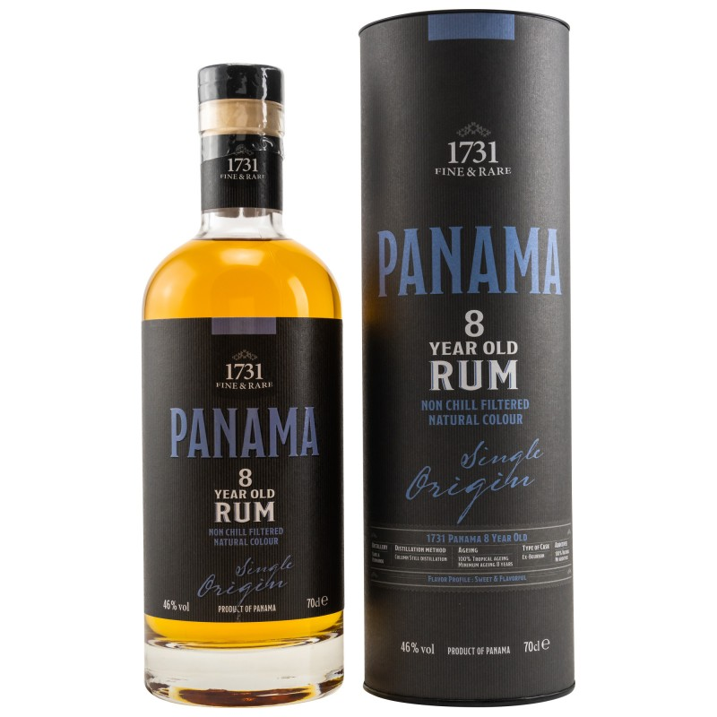 1731 Rum - Panama (Varela Hermanos) 8 Years hier bestellen.
