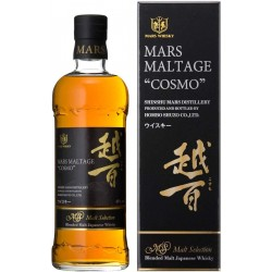 Mars Maltage COSMO Malt Selection Blended Malt Japanese Whisky 43% Vol. 0,7 Liter in Geschenkbox hier bestellen.