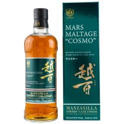 Mars Maltage COSMO Manzanilla Cask Finish 42% Vol. 0,7 Liter in Geschenkbox hier bestellen.