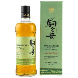 Mars KOMAGATAKE Single Malt Japanese Whisky Limited Edition 2019 48% Vol. 0,7 Liter in Geschenkbox hier bestellen.