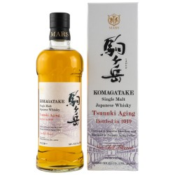 Mars KOMAGATAKE Single Malt Japanese Whisky TSUNUKI AGING 2019 56% Vol. 0,7 Liter in Geschenkbox hier bestellen.