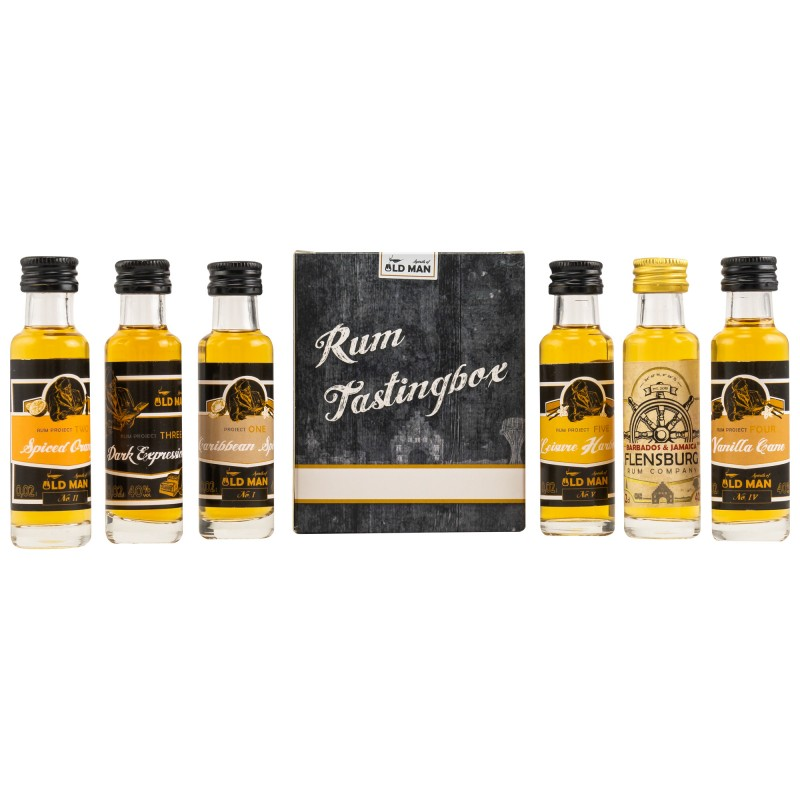 Old Man Rum Project Tasting Set 6 x 0,02 Liter hier bestellen.