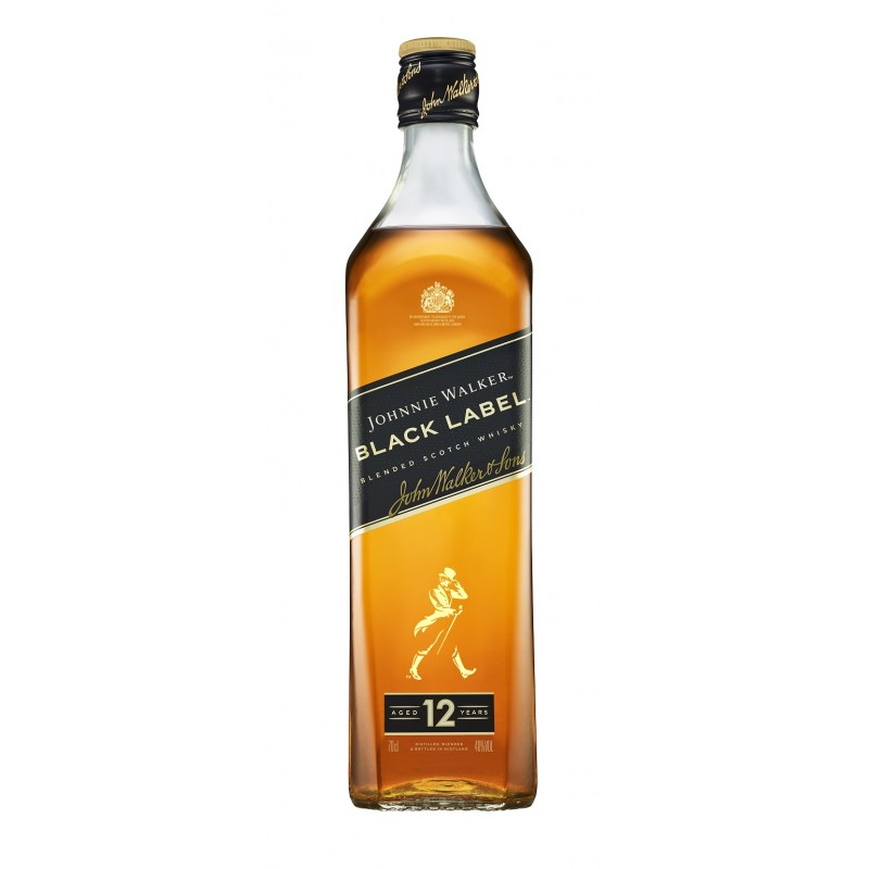 Johnnie Walker BLACK LABEL 12 Years Old Blended Scotch Whisky 40% Vol. 0,7 Liter hier bestellen.