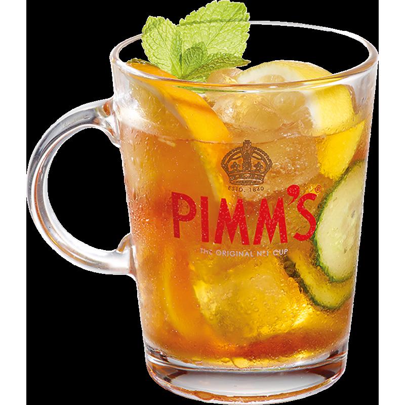 PIMMs No. 1 Henkelglas (Mug) 0,3 Liter hier bestellen.