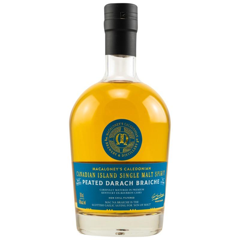 Macaloney's Peated Darach Braiche 0,7 Liter bei Premium-Rum.de online bestellen.