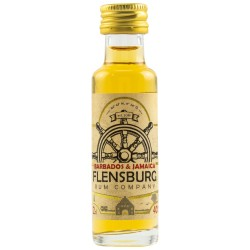 Flensburg Rum Company Barbados & Jamaica Rum 40% Vol. 0,02 Liter bei Premium-Rum.de online bestellen.