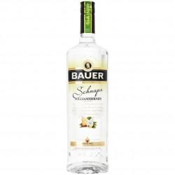Bauer Williamsbirnen Schnaps 36% Vol. 0,7 Liter bei Premium-Rum.de online bestellen.