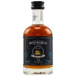 Ron Barco 15 Jahre 40% 0,05 Liter bei Premium-Rum.de online bestellen.