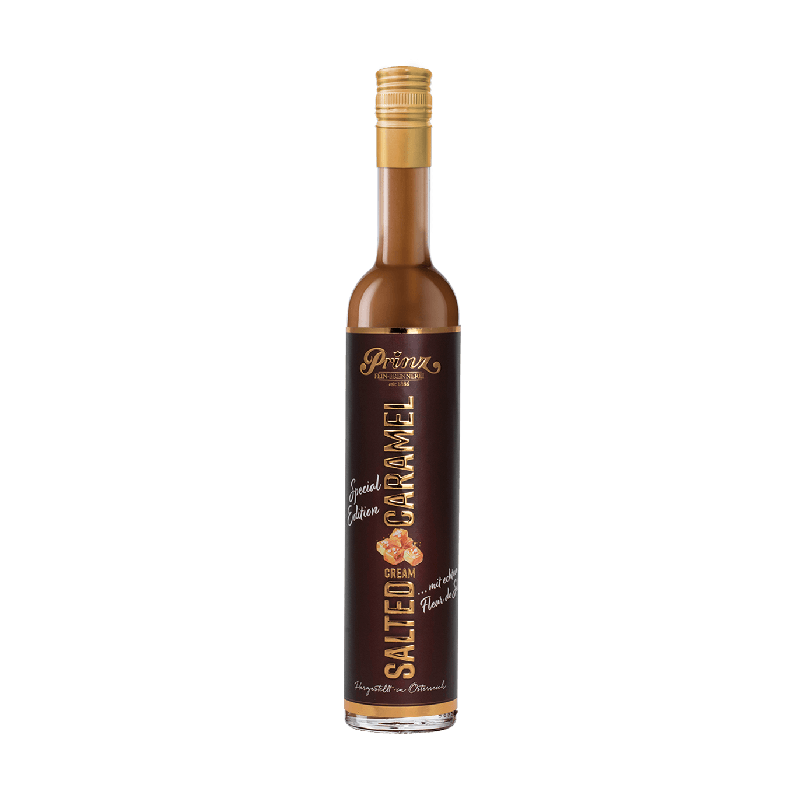 Prinz Salted Caramel Cream 0,5 Liter 17 % Vol. bei Premium-Rum.de online bestellen.