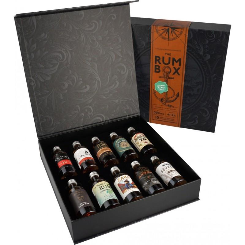 The Rum Box - World Rum Tour Ed. 2021 bei Premium-Rum.de online bestellen.
