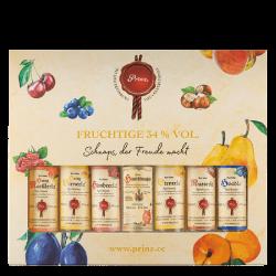 """Prinz """"Die kleinen Fruchtigen"""" Geschenkset 7 x 0,04 Liter bei Premium-Rum.de online bestellen."""