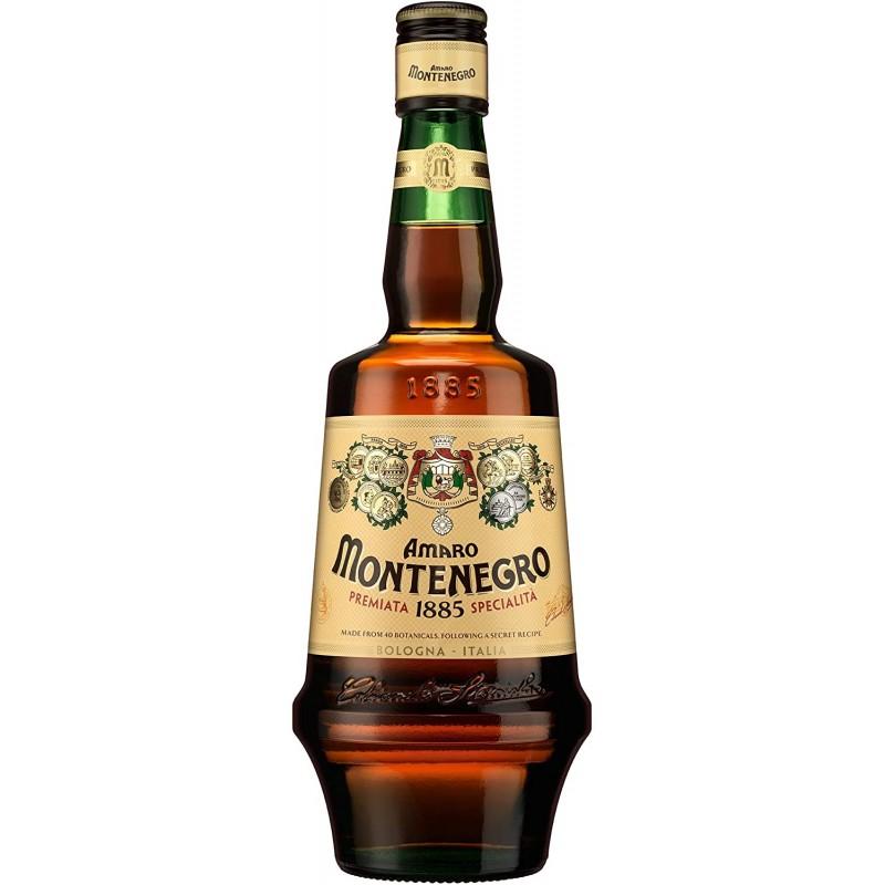 Montenegro Amaro Kräuterlikör aus Italien 23% Vol. 0,7 Liter bei Premium-Rum.de
