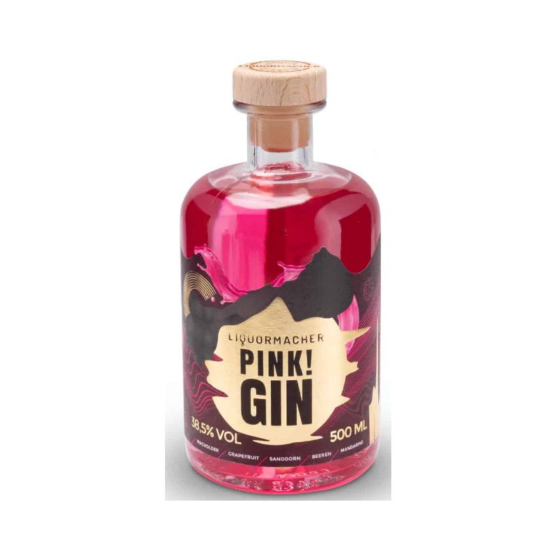 LiquorMacher Pink! Gin bei Premium-Rum.de bestellen.