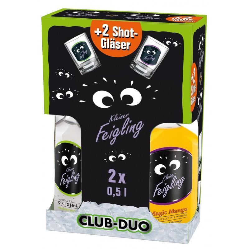 Kleiner Feigling Club Duo Original & Magic Mango bei Premium-Rum.de bestellen.