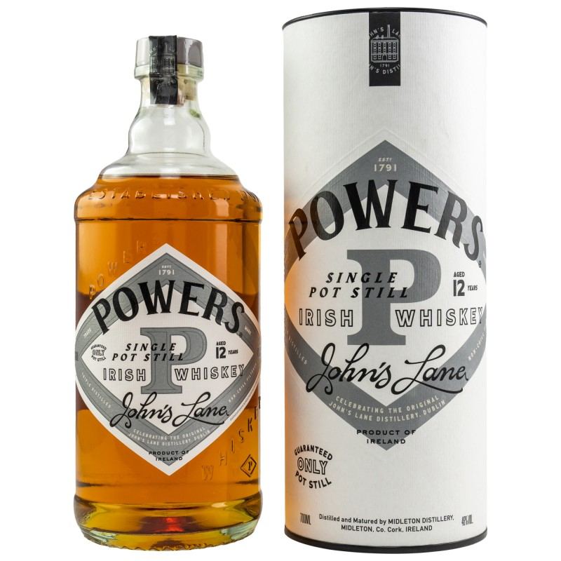 Powers 12 Years Old JOHN'S LANE bei Premium-Rum.de