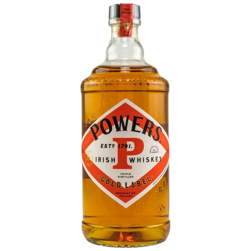 Powers GOLD LABEL Irish Whiskey bei Premium-Rum.de bestellen.