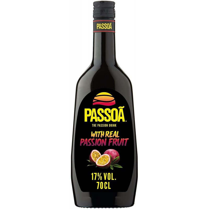 PASSOÃ The Passion Drink Liqueur 17% Vol. 0,7 Liter bei Premium-Rum.de bestellen.