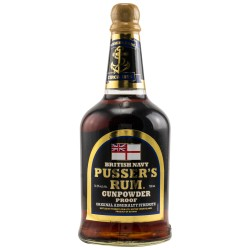 Pusser's Rum Gunpowder Proof 54,5% Vol. bei Premium-Rum.de bestellen.