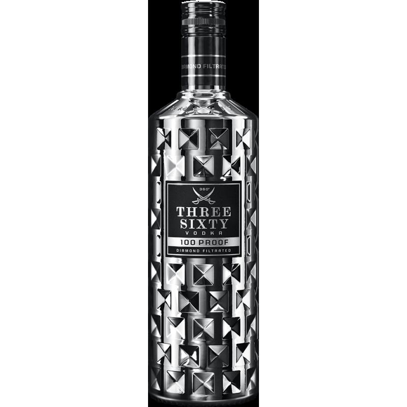 Three Sixty Vodka 100 Proof  bei Premium-Rum.de bestellen.