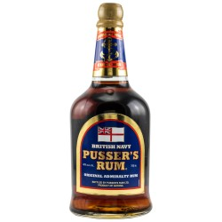 Pusser's Original Admiralty Rum 40% Vol. 0,7 Liter bei Premium-Rum.de