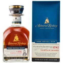 Admiral Rodney HMS ROYAL OAK Extra Old Saint Lucia Rum 40% Vol. 0,7 Liter in Geschenkbox