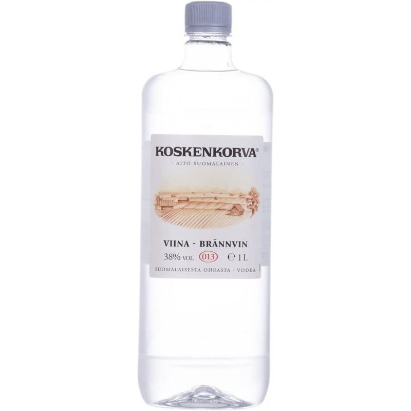 Koskenkorva Vodka VIINA - BRÄNNVIN PET 38% Vol. 1 Liter beiPremium-Rum.de bestellen.