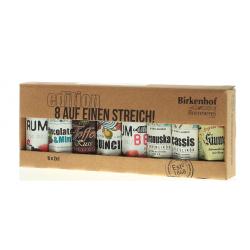 """Birkenhof Tasting-Set """"8 auf einen Streich""""  8 x 0,02 Liter bei Premium-Rum.de bestellen."""
