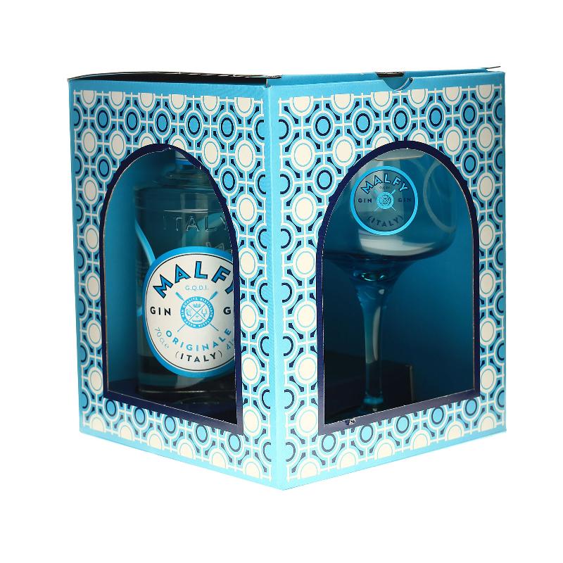 MALFY Gin Originale 0,7 Liter Geschenkset mit Copa Glas bei Premium-Rum.de bestellen.