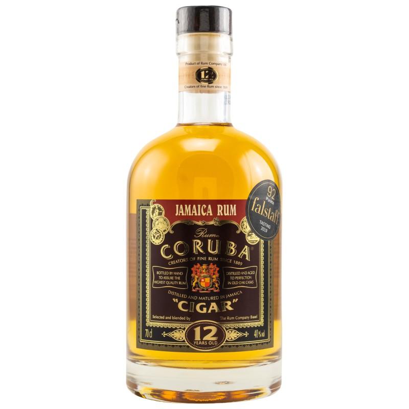 Coruba 12 Years Old Cigar Rum 40% Vol. 0,7 Liter bei Premium-Rum.de bestellen.