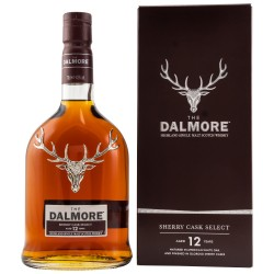 The Dalmore 12 Years Old SHERRY CASK SELECT 43% Vol. 0,7 Liter bei Premium-Rum.de