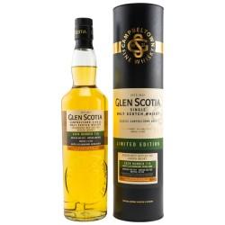 Glen Scotia Kirsch Single Cask 1st Fill Bourbon Barrel 2012/2020, Cask no. 715 56,8% Vol. 0,7 Liter